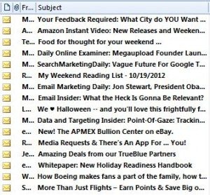 Effective email subject lines